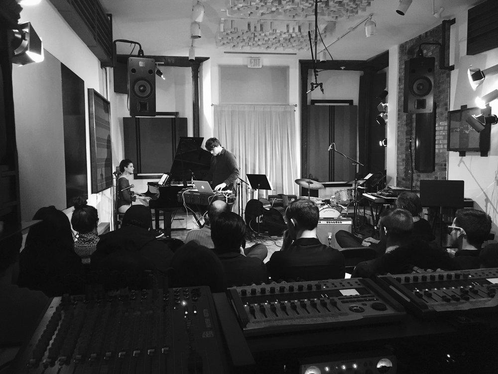 TILTED ARC: Sophia Subbayya Vastek (piano), Sam Torres (electronics)