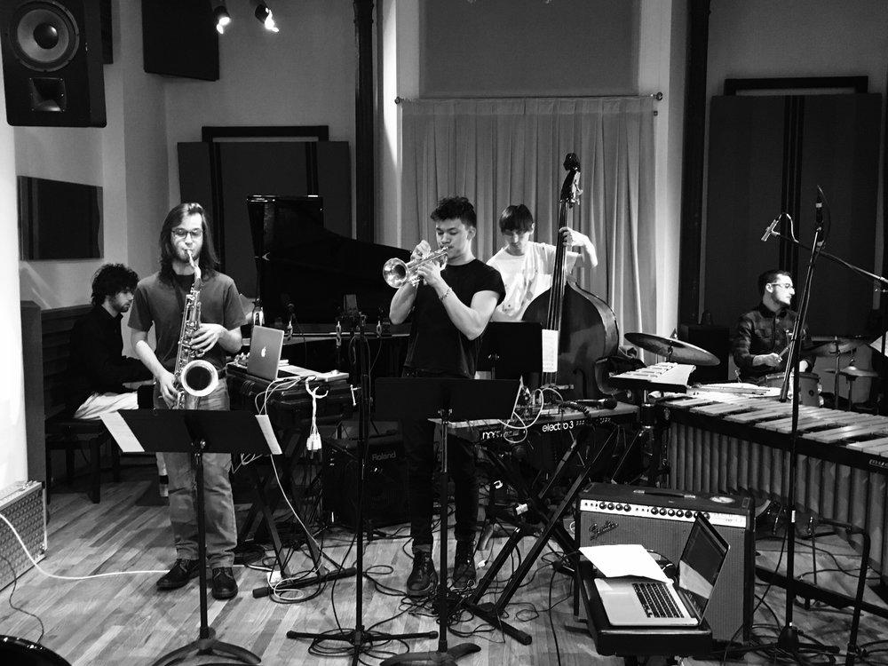 BODY BAG: Alex Perry (piano), Xavier Del Castillo (saxophone), Nolan Tsang (trumpet), Mat Muntz (bass), Tim Rachbach (drums)