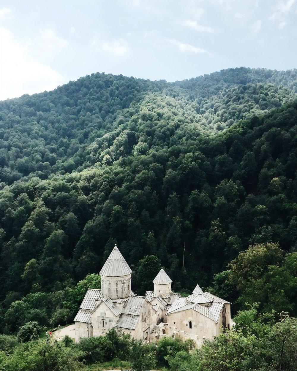 Hargatsin Monastery in Armenia