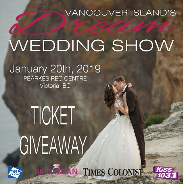 We are excited to announce that Vancouver Island's Dream Wedding (@vidreamwedding) show has given us a pair of tickets to give away to their show this Sunday, the 20th! You can find us there from 10a-4p displaying our new inventory.  To enter to win a pair of free tickets, share this photo and tag @shadyspaces. We hope to see you there! xoxo from the Shady Spaces Team.
