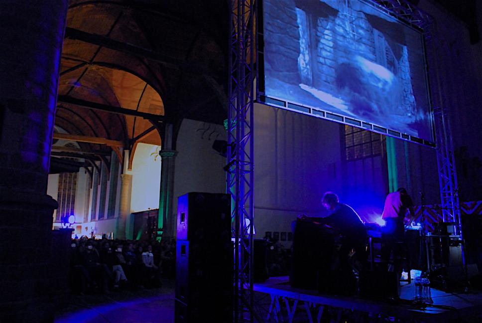 ZZZ meets James Whale | 30.10.09 Oude Kerk Amsterdam © Bass Beek