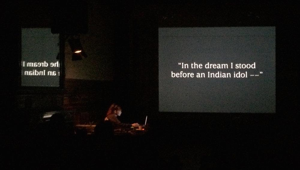 Aïsha Devi meets G W Pabst' Geheimnisse Einer Seele | 12.12.14 Goethe Institute Amsterdam © Bass Beek