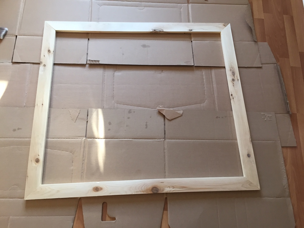 How to Frame a Builder\'s Mirror — The Penny Drawer