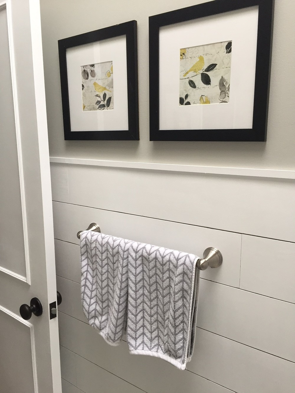 Bathroom Update How To Paint Laminate Cabinets The Penny Drawer - Cost to paint a bathroom