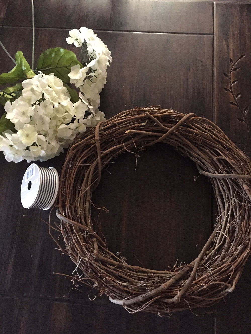 Diy Spring Wreath The Penny Drawer