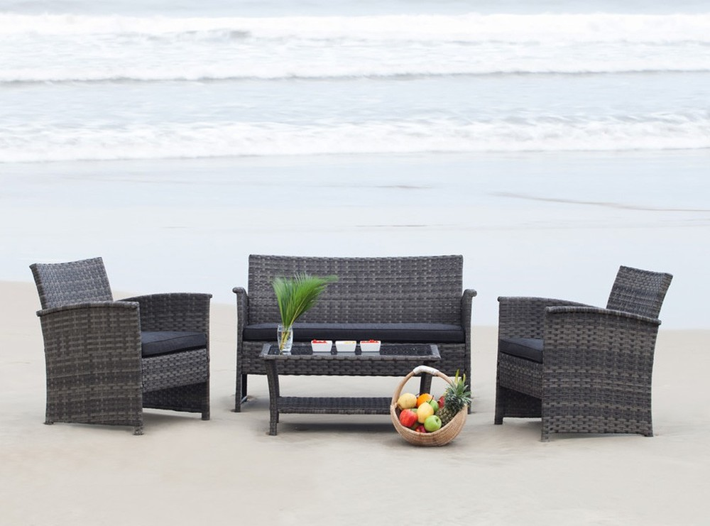 Conversation set from Jysk, beach not included