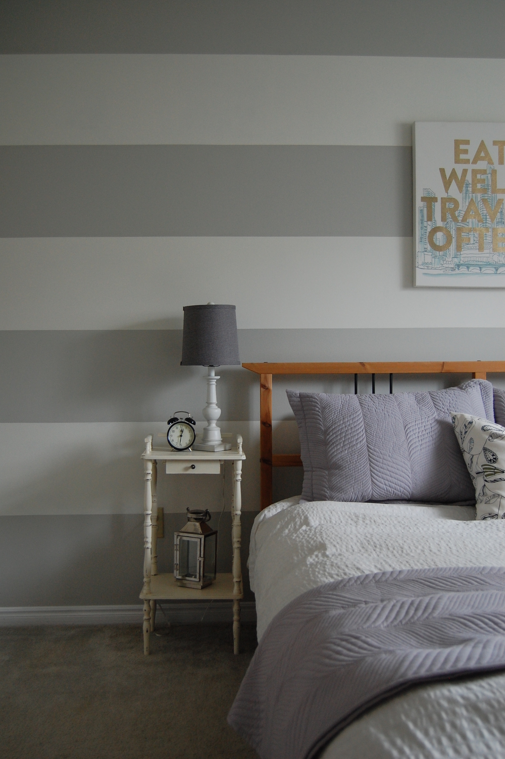 How to Paint a Striped Accent Wall