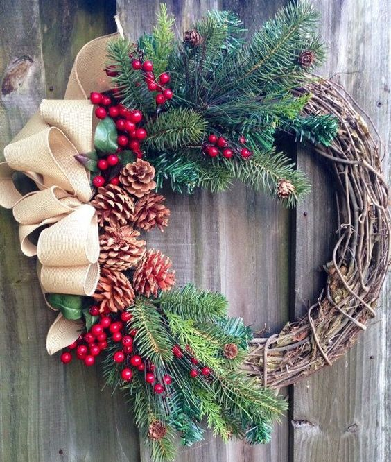10 diy christmas wreath - Diy Christmas Wreath