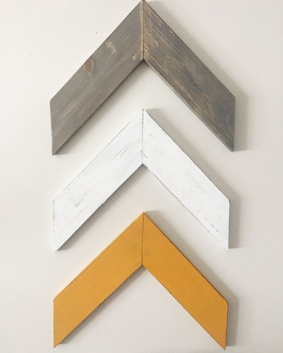 Chevron Wood Arrows