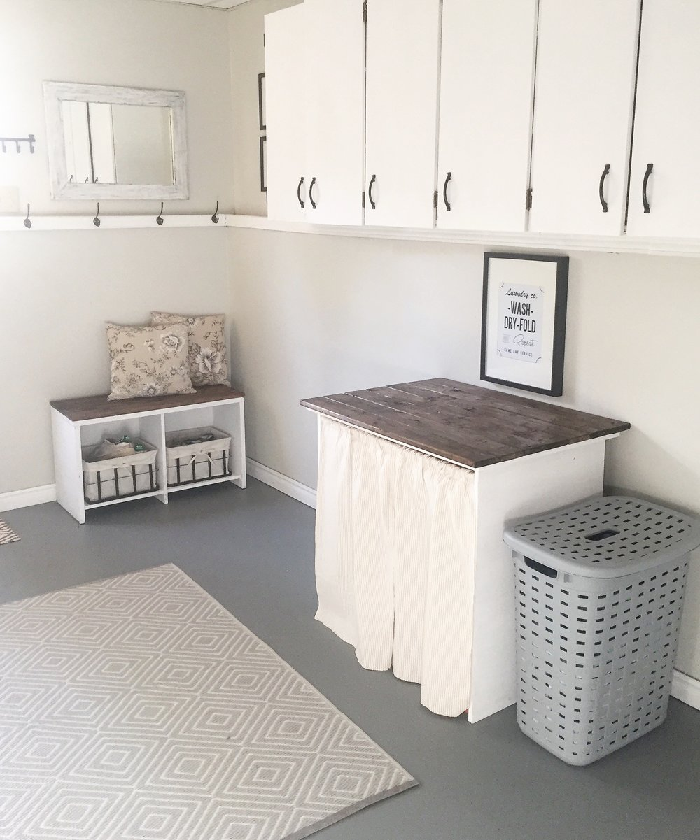 Laundry Room Makeover Part 3- The Finishing Details