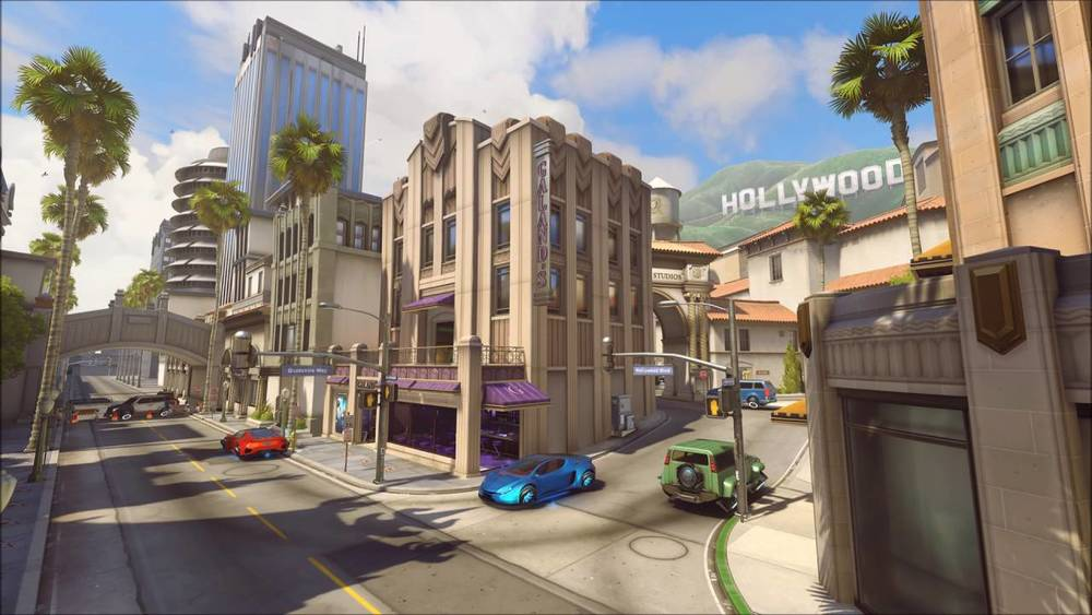 Ironically, there is a level in the game based around actual Hollywood. Well played, Blizzard.