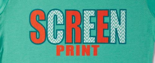 Screen printing apparel