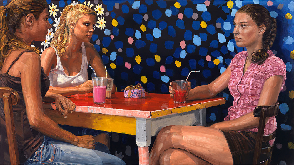 The Gift, 2010, oil on linen, 95x170cm