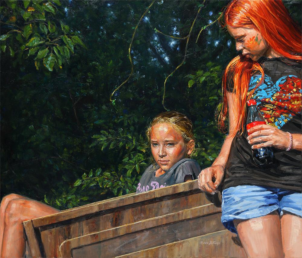 Sunny Time, 2015, oil on linen, 90x105cm