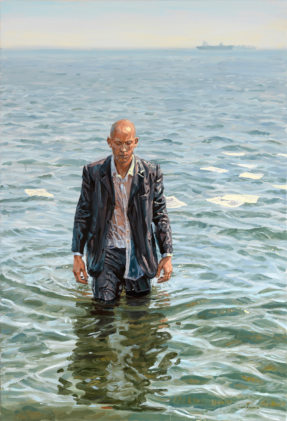 The Abandonment, 2012, oil on linen, 130x89cm