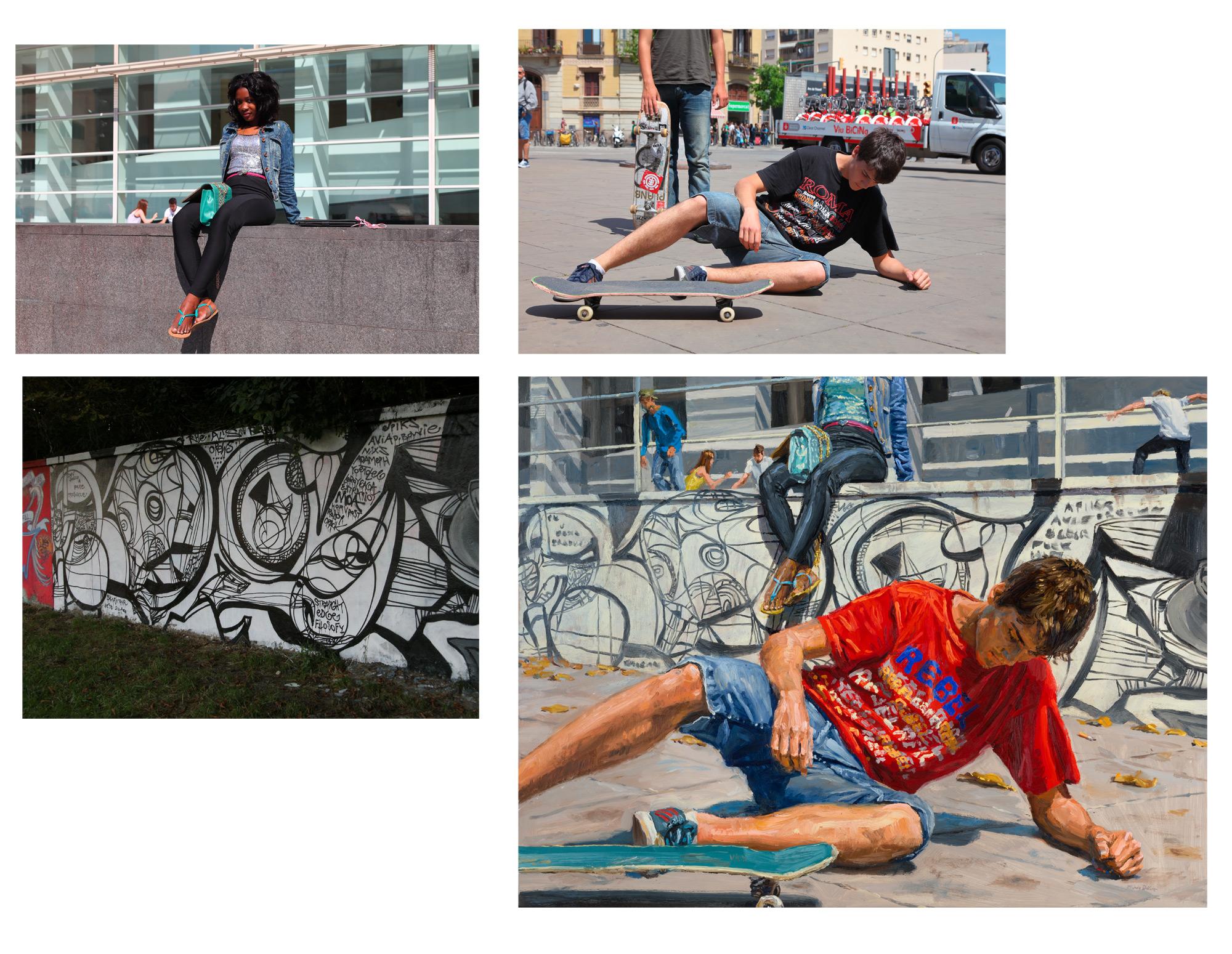 skater, process
