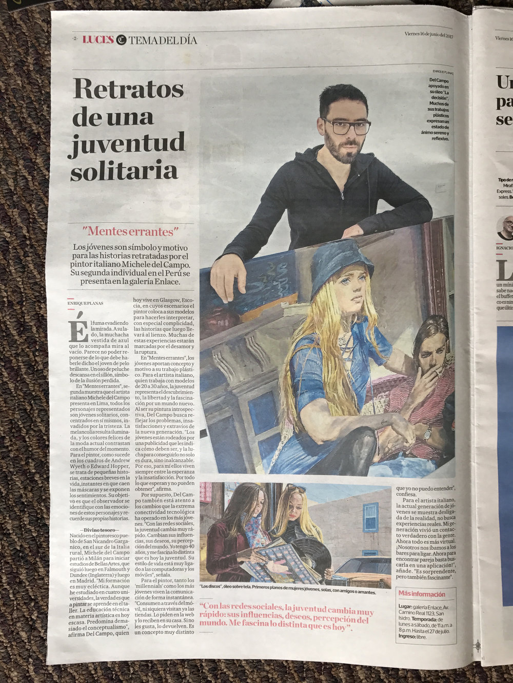 El Comercio June 2017, Peru