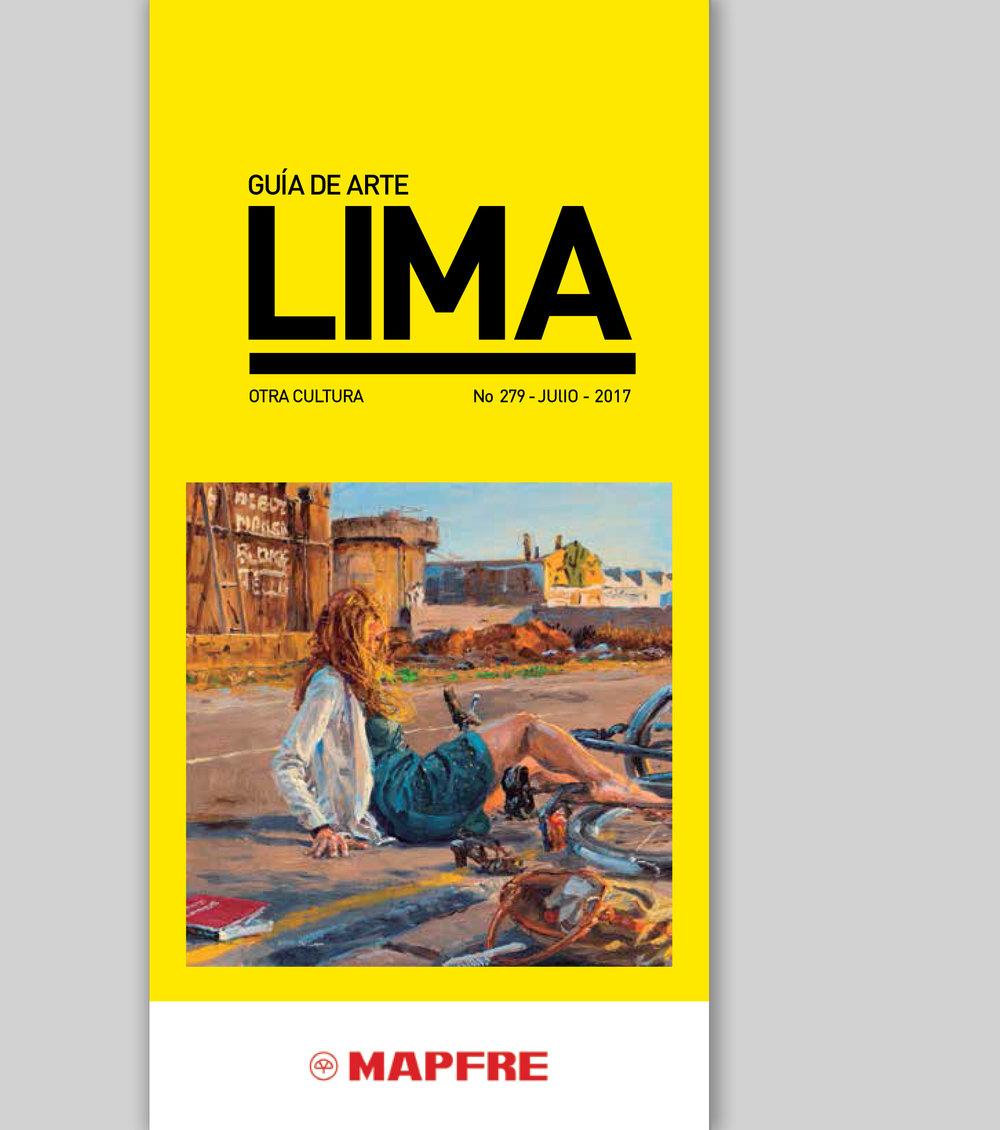 Guía de arte Lima July 2017, Peru