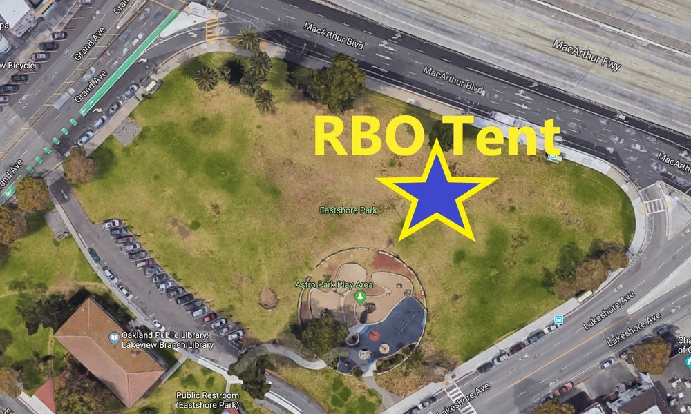 RBO race day location