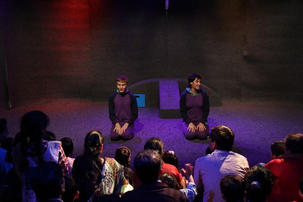 'Look' by Imaginary Theatre, Brisbane Powerhouse & Aha! International Theatre Festival for Children, Bangalore