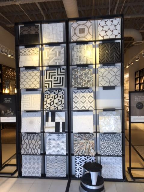 Tile Display at Ann Sacks