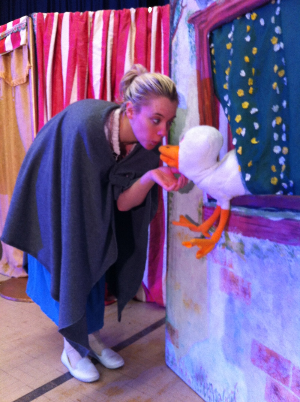 THE GOOSE GIRL (2016)with Emily Bozik and Friend (puppet made by Ellen Skura)