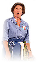 Mary Ann Jung as Julia Child