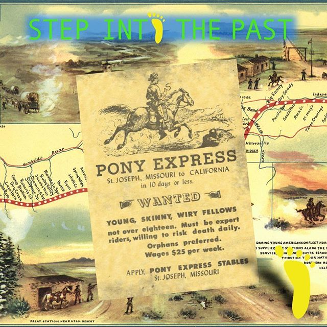 During this week in 1860, the Pony Express began its 10-day, 2000-mile express mail delivery service between St. Joseph, MO and Sacramento, CA, where it was then delivered to San Francisco.  Since the boom of the California Gold Rush, people wanted a quick way to deliver mail to the West coast, which, at the time, was on the other side of the world. Until then, mail took months by ship to take the long (pre-Panama Canal) route around South America, or took about a month by stagecoach.  The Pony Express used light riders, quick horses, and multiple stops to help the news travel fast, but at a cost: about $130 in today's money. After just 19 months, the service folded, due in part to the start of the Civil War and more significantly Western Union's transcontinental telegraph.  If you want to learn more how #history informs our daily life, take a FOOT! fun walking tour, now celebrating the 50th anniversary of the Summer of Love.  #walkingtours #SanFrancisco #PonyExpress #telegraph #BuffaloBill #SummerofLove #SummerofLove50