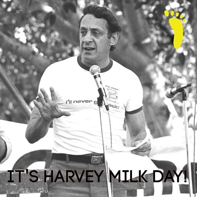 Today is #HarveyMilk Day, and if you don't know who he is or what he stood for in the #gay community of #SanFrancisco, you need to. It was the #counterculture movement that inspired him to come out as a gay man and to enter politics. He later became a city supervisor and helped spearhead a #gayrights ordinance in the City.  After his assassination, he became an icon and martyr for gay causes in San Francisco and around the nation, and posthumously won the Presidential Medal of Freedom.  Learn how the past influences our present, and how history repeats itself, on a fun walking tour of the #Castro district from FOOT!
