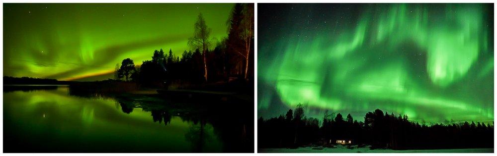 Vill man fota norrsken är det i Norrbotten man ska vara