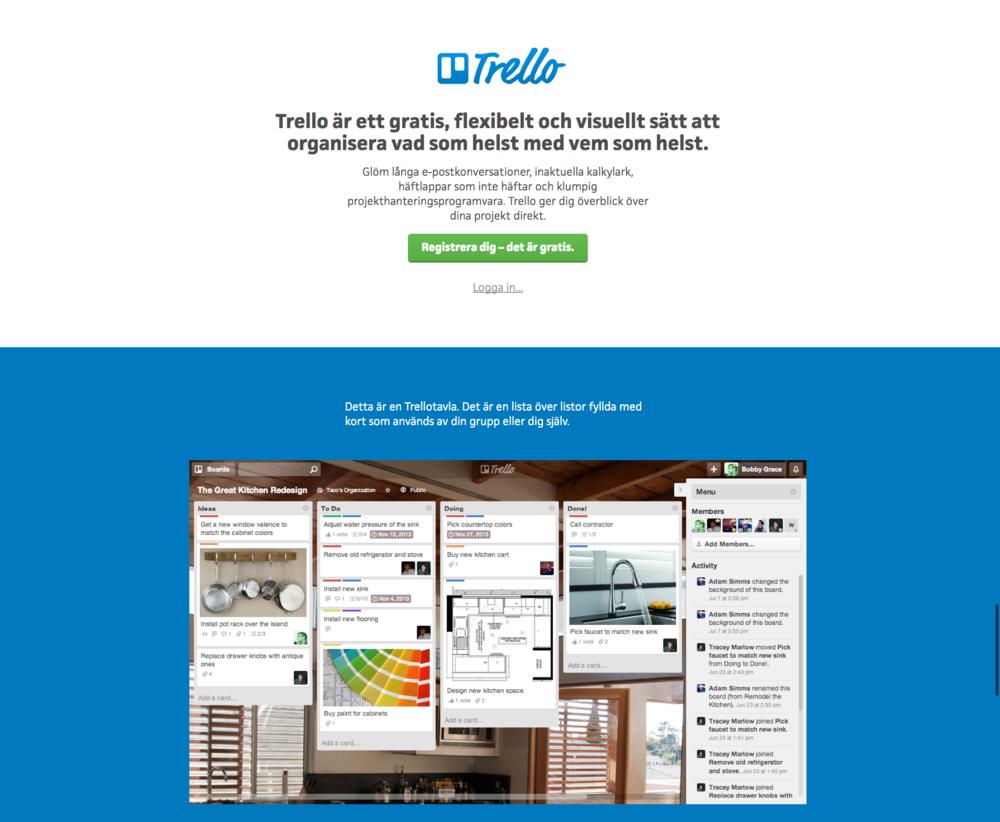 Organisera dina arbetsuppgifter och projekt med Trello