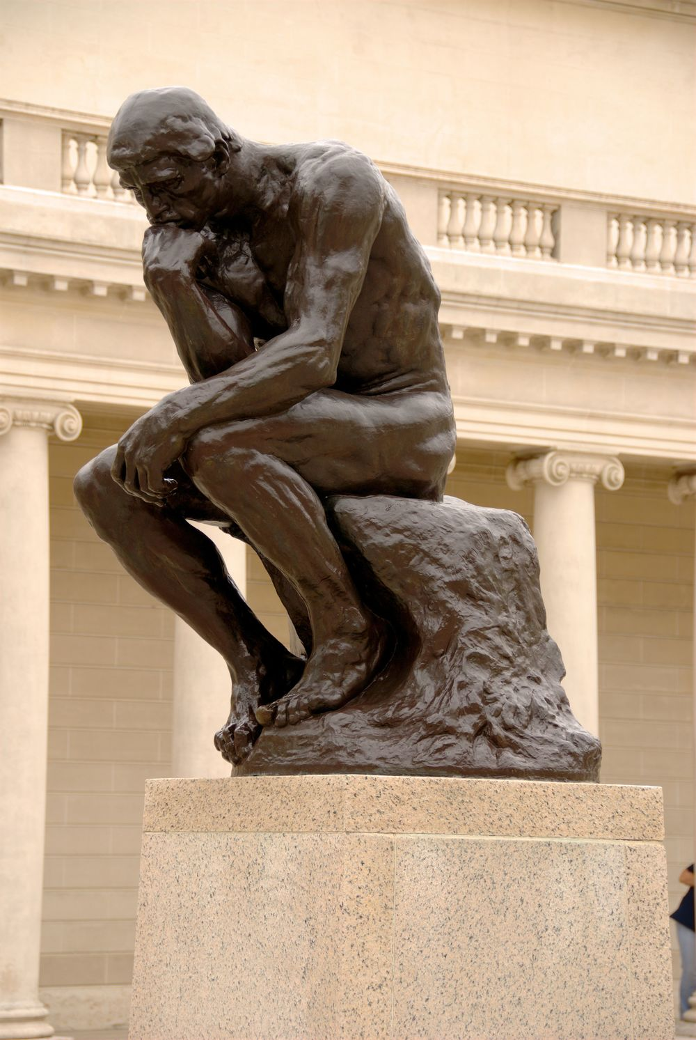 'The Thinker '   - Auguste Rodin