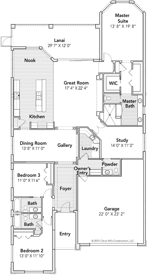 The Fairhaven Floor Plan - Click To View Full Screen