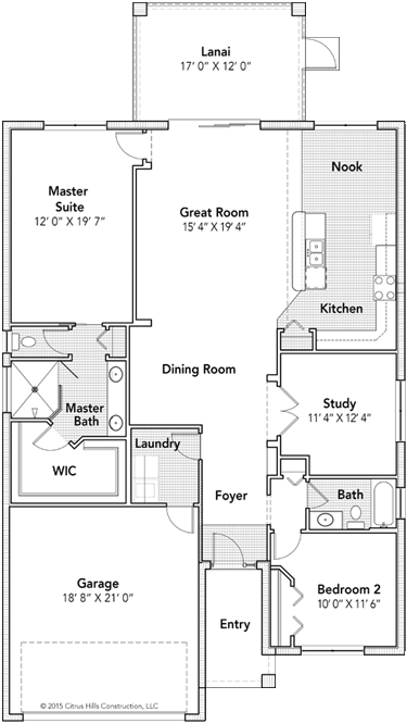 The Cromwell Floor Plan - Click To View Full Screen