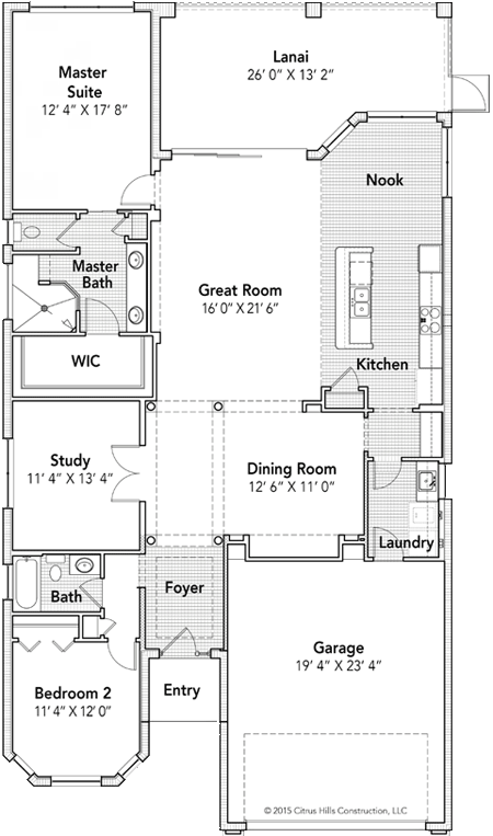 The St. Moritz Floor Plan - Click To View Full Screen