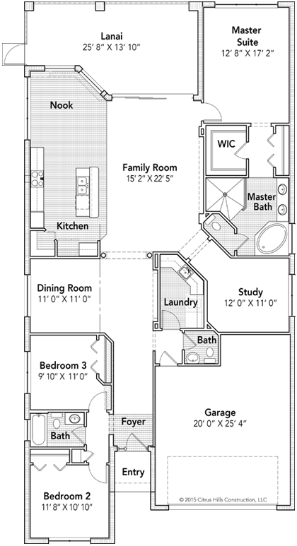 The St. Victoria Floor Plan - Click To View Full Screen