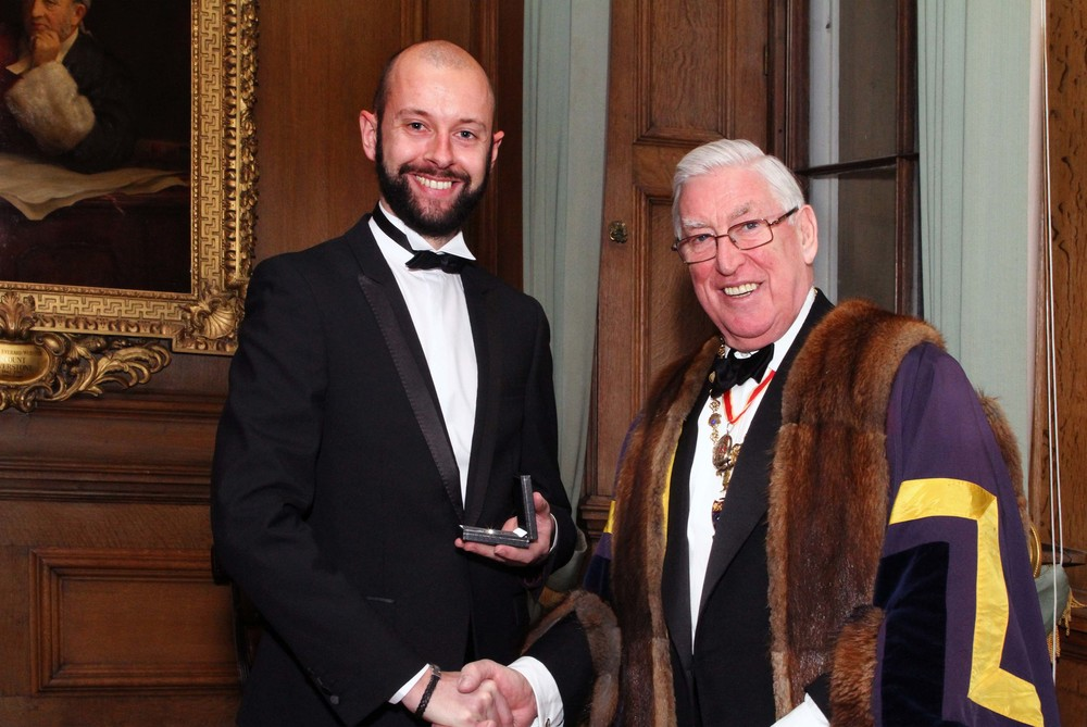WORSHIPFUL COMPANY OF MUSICIANS' SILVER MEDAL AWARD