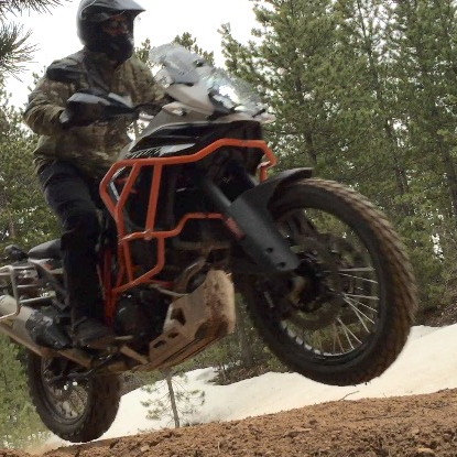 Mike Glover,  Co-Owner of FieldCraft Survival in Northern California is a former Special Forces combat-disabled veteran and avid motorcycle adventure rider. Mike started his love for motorcycle adventure in the Army as a Sniper/Reconnaissance operator where off road mobility including ATVs, side by sides and motorcycles were the platform of choice in rugged and desolate terrain. Mike has taken that passion for motorcycles from the mountains of the Hindu Kush Afghanistan and is bringing it to the Baja 1000 where he believes in giving back to both veterans and those in the first responder community who are dealing with PTSD.