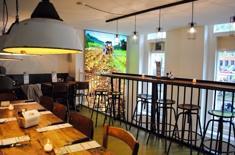 """The inviting upstairs seating of """"Jacketz"""" restaurant"""