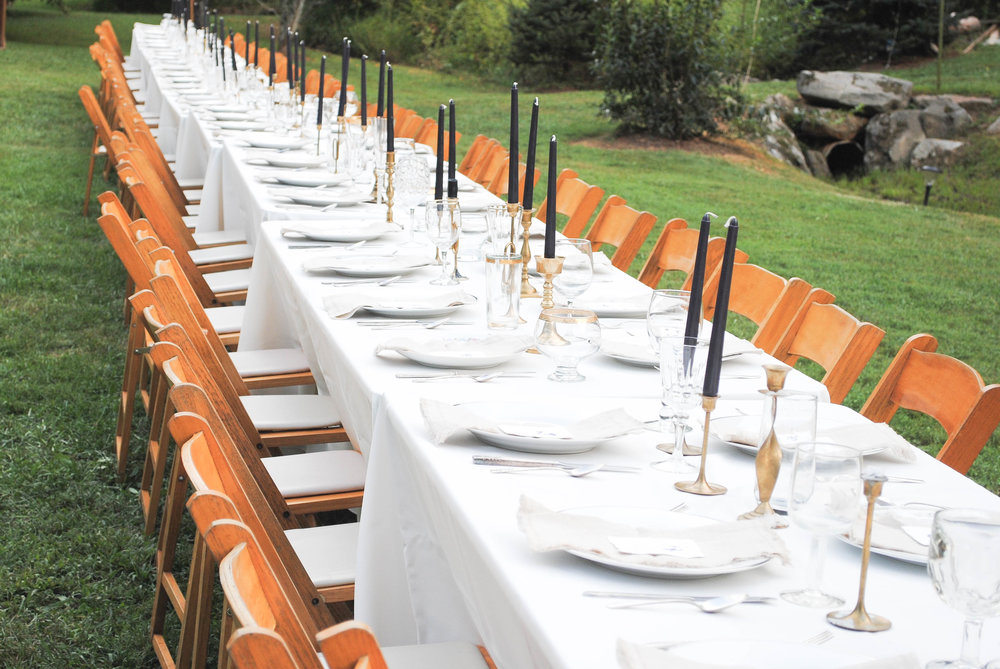 Fall Break Co. Styled Farm Table Dinners