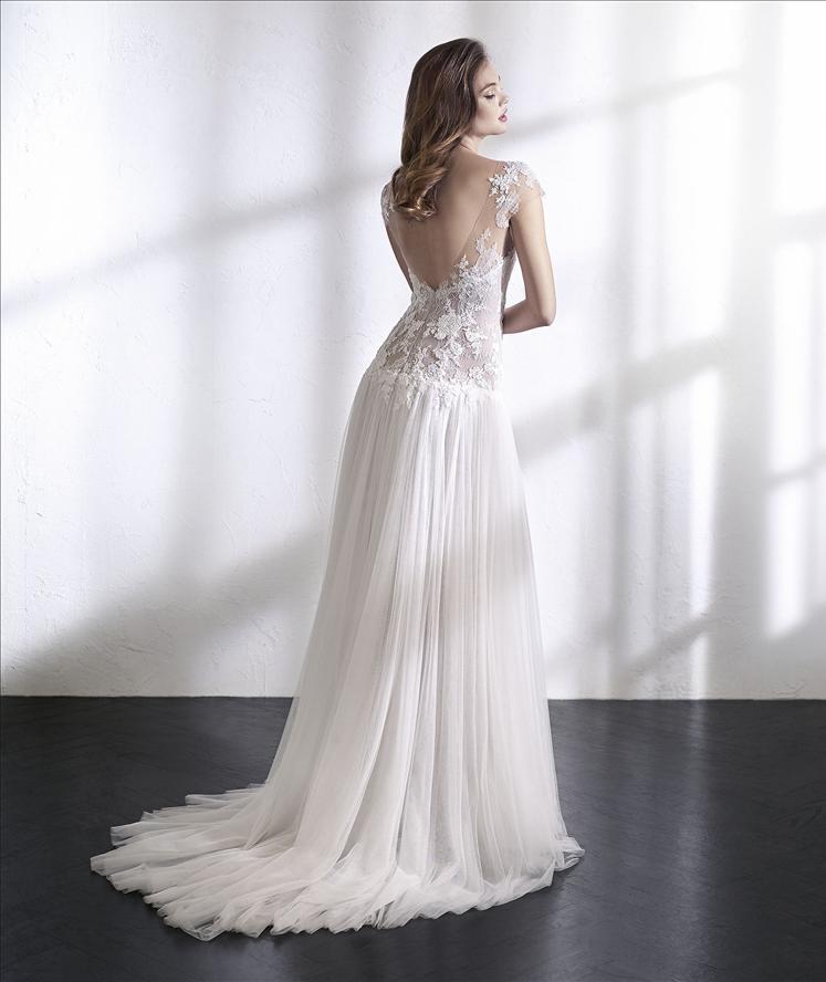 Wedding Dress Outlet St Patrick Lena back
