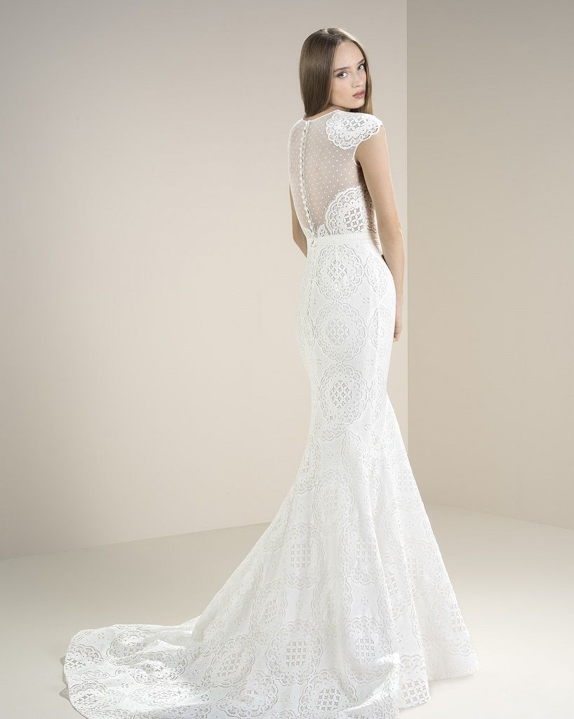 Wedding Dress Outlet Jesus Peiro 8060 back