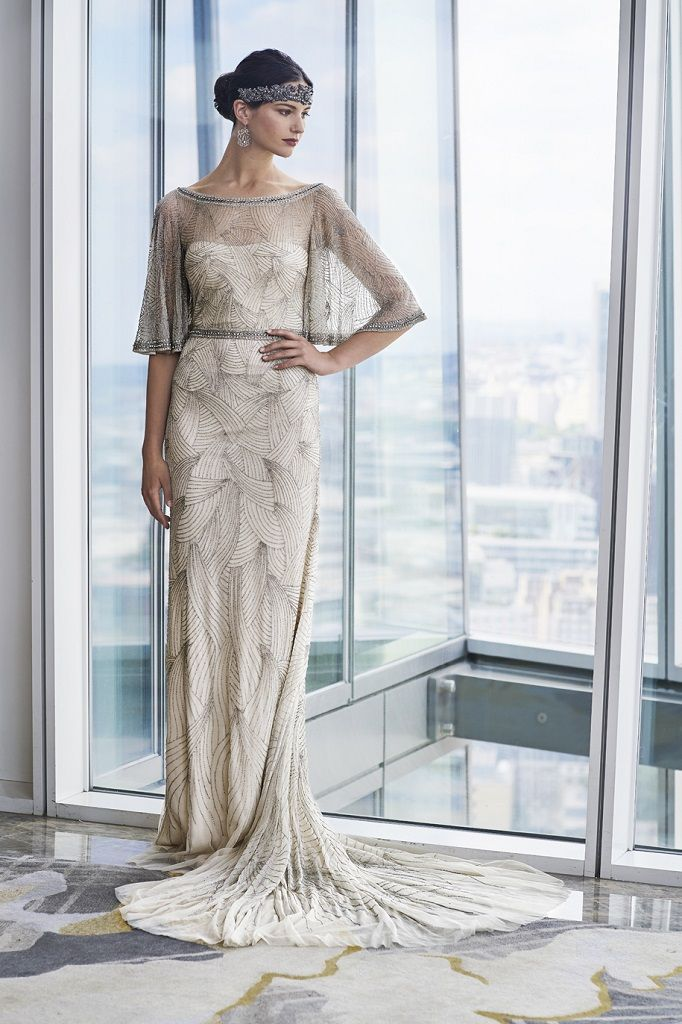 Eliza Jane Howell Wedding Dress Pompeii Platinum