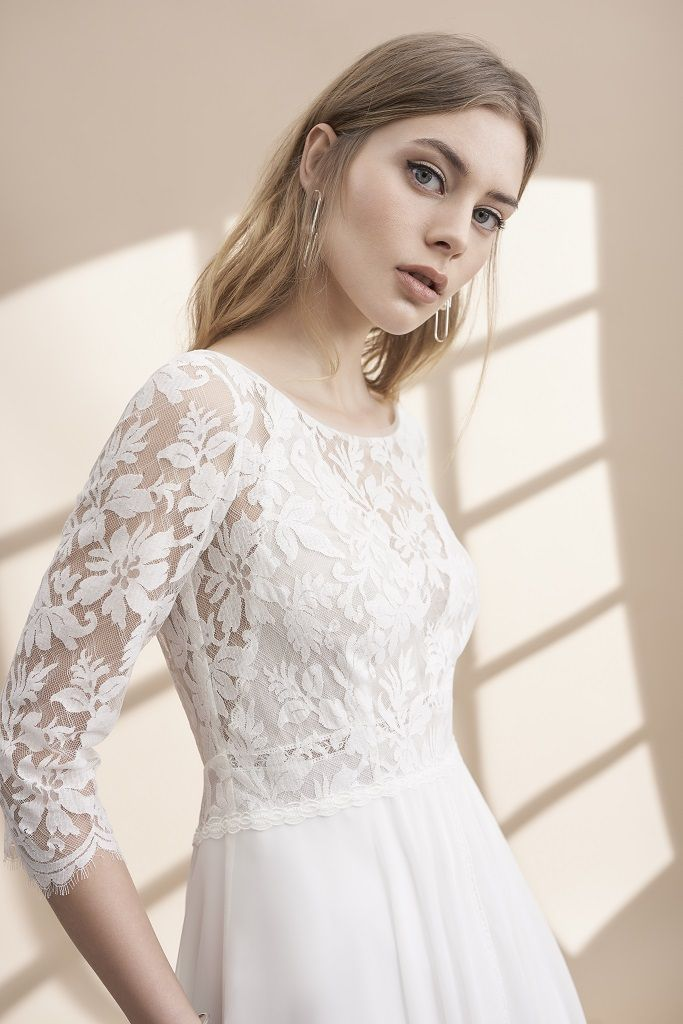 Rembo Wedding Dress 2019 Heloise close-up