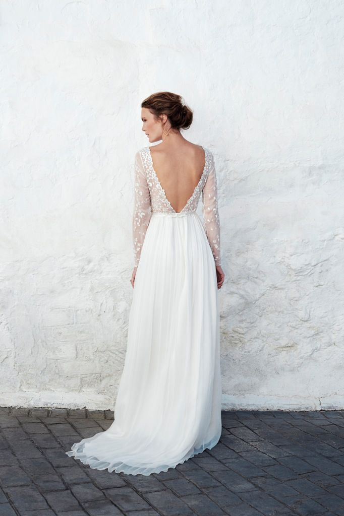 Leila Hafzi Wedding Dress MALA B12517 back.jpg