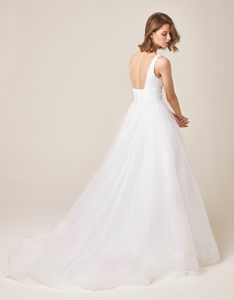 Jesus Peiro Wedding Dress 926 back