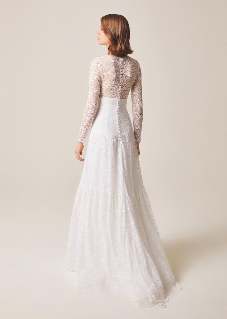 Jesus Peiro Wedding Dress 930 back