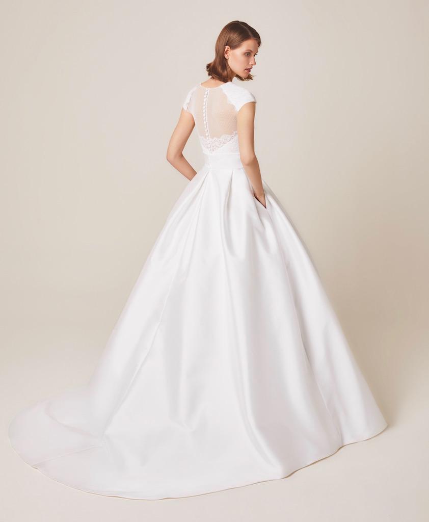 Jesus Peiro Wedding Dress 944 back