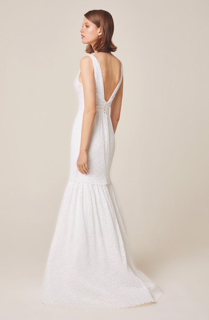 Jesus Peiro Wedding Dress 948 back