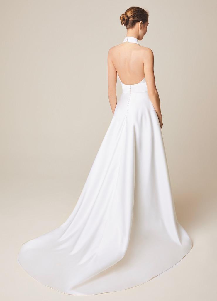 Jesus Peiro Wedding Dress 956 back